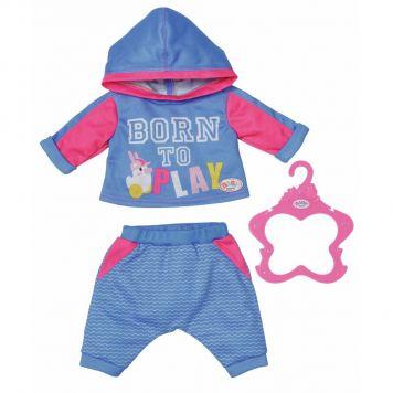 Baby Born Joggingpakken 2 Assorti 43 Cm