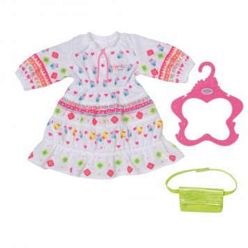 Baby Born Trendy Boho Jurk 43 Cm