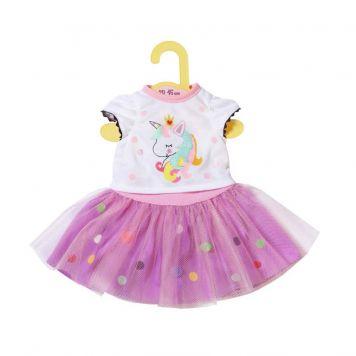 Dolly Moda Eenhoorn Tshirt 43 Cm