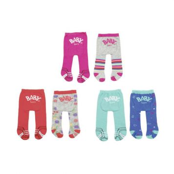 Baby Born Trend Tights 2 Pack Assorti
