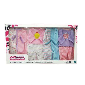 Poppenkledingset Dolls Room 4st 41 Cm
