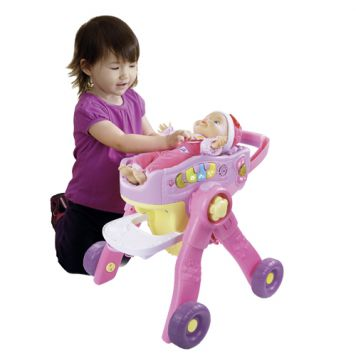 Poppenwagen Vtech Little Love 3-in-1