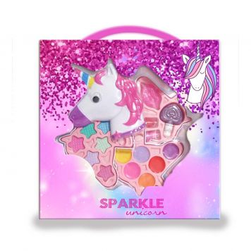 Unicorn Sparkly Make-Up Set Unicorn Hoofd