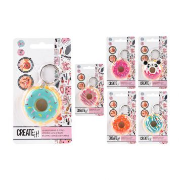 Create It! Lipbalm Donut 3 Assorti