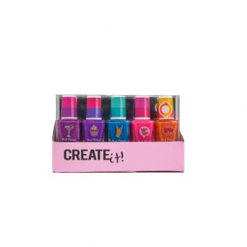Create It! Nagellak Set Color Changing 5 Stuks