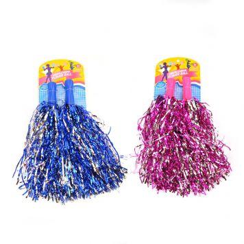 Cheerleader Pom Pom Sticks 2 Assorti