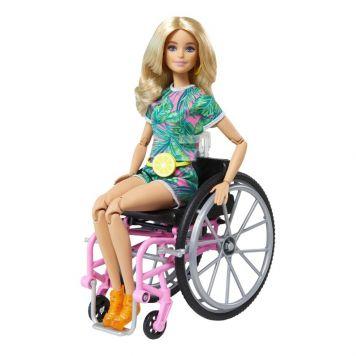 Barbie Fashionista En Rolstoel blond