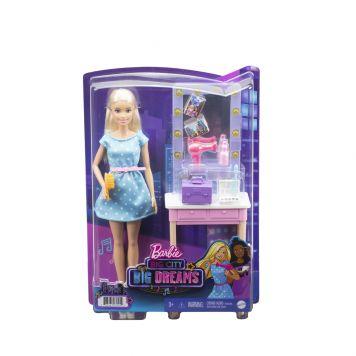 Barbie Big City Big Dreams Doll and Playset Malibu  Vanity
