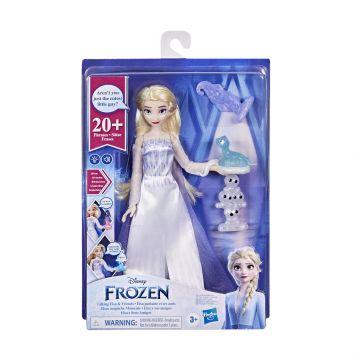 Frozen 2 Pratende Elsa En Vrienden