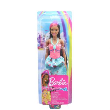Barbie Dreamtopia Prinses Bruin Haar
