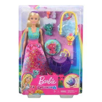 Barbie Dreamtopia Speelset Fee - Prinses Met Honey En Baby Draakjes