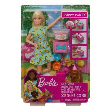 Barbie Puppy Feestje Blond