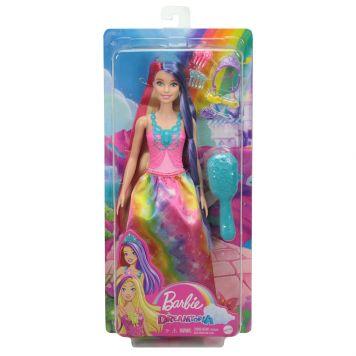 Barbie Lang Haar Prinsessenpop