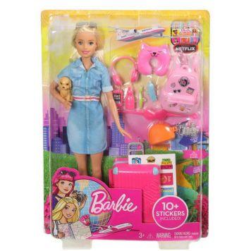 Barbie Dreamhouse Barbie Gaat Op Reis Pop