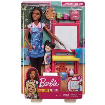 Barbie Kunstlerares En Speelset