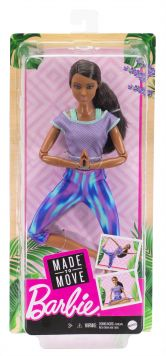 Barbie Made to Move Doll 3