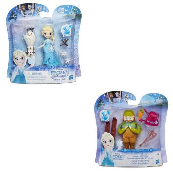 Speelfiguur Mini Disney Frozen Met Vriendje  Assorti