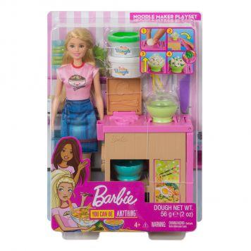 Barbie Noedels Bar Pop en Speelset