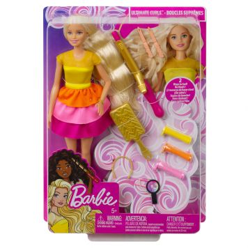 Barbie Ultieme Krullen Pop En Speelset