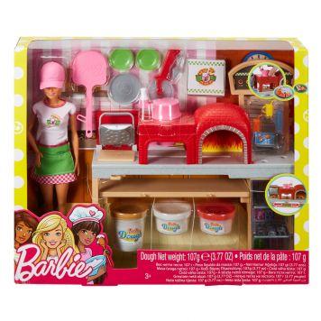 Barbie Pizzabakker Speelset