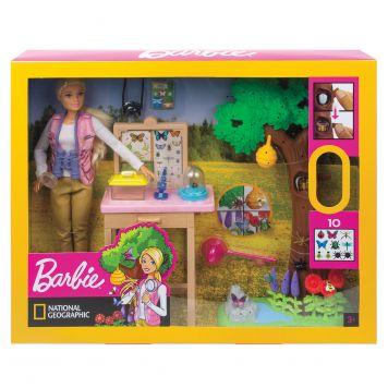 Barbie National Geographic Vlinderwetenschapper Speelset