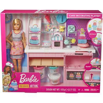 Barbie Taarten Decoratie Speelset