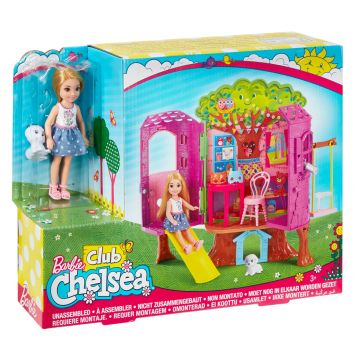 Barbie Club Chelsea Boomhuis