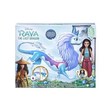 Disney Princess Raya And The Last Dragon Color  Splash Raya En Sisu