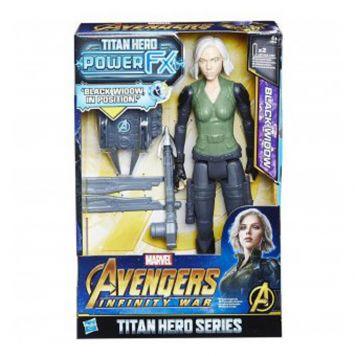 Avengers Infinity War Black Widow Figuur Power  FX 30CM