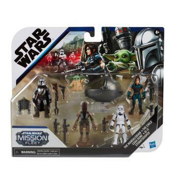 Star Wars Mission Fleet Mandalorian Multipack  Figuren