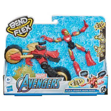 Marvel Avengers Bend N Flex Rider Iron Man