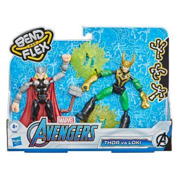 Marvel Avengers Bend N Flex Thor vs Loki