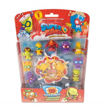Superzings Blister 10 Figurine