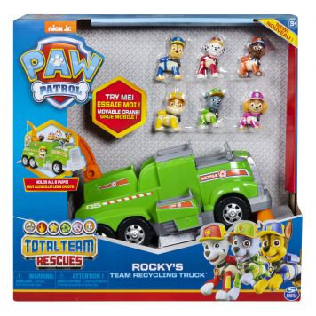 Paw Patrol Team Rescue Vehicle Rocky