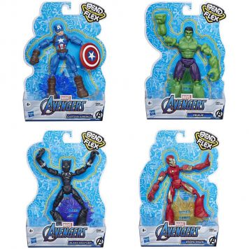 Avengers Bend And Flex Assorti