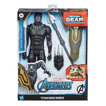Marvel Avengers Titan Hero Blast Gear Black  Panther 30 Cm
