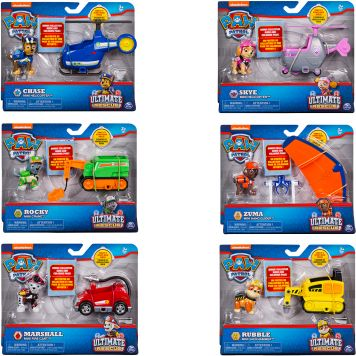 Paw Patrol Ultimate Rescue Mini Voertuigen