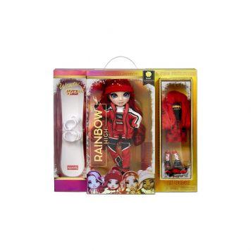 Rainbow High Fashion Winter Break Doll- Ruby  Anderson (Red)