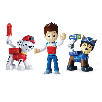 Paw Patrol Action Pack 3 Pack Marshall, Ryder, Chase
