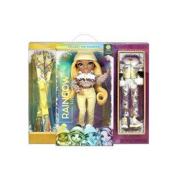 Rainbow High Fashion Winter Break Doll- Sunny  Madison (Yellow)