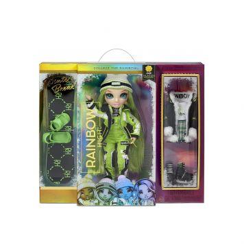 Rainbow High Fashion Winter Break Doll- Jade  Hunter (Green)