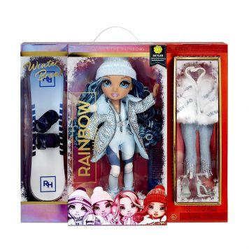 Rainbow High Fashion Winter Break Doll- Skyler  Bradshaw (Blue)
