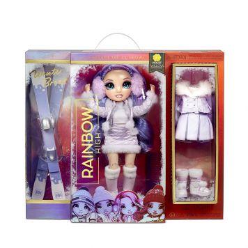 Rainbow High Fashion Winter Break Doll- Violet  Willow (Purple)