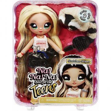 Na! Na! Na! Surprise Teens Doll - Gretchen  Stripes (Raccoon)