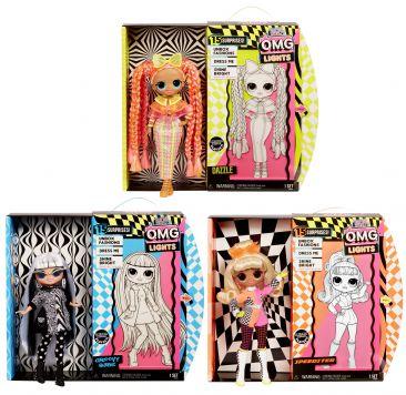Lol Surprise OMG Neon Doll Assorti
