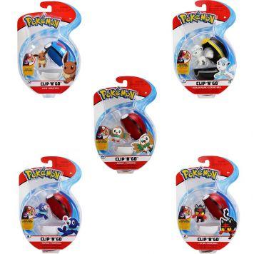 Pokemon Clip N Go Assorti Wave 5