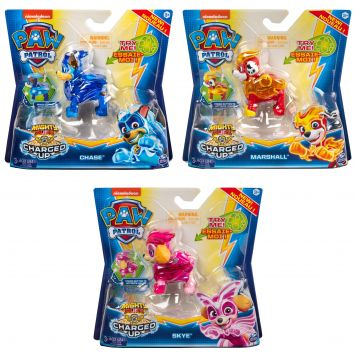 Paw Patrol Mighty Pups Charged Up Assorti