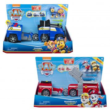 Paw Patrol Split Second Vehicles Assorti