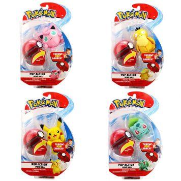 Pokémon Pop Action Poke Ball Assorti