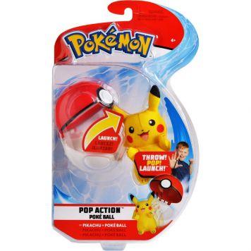 Pokémon Action Poke Ball Pikachu En Poke Ball